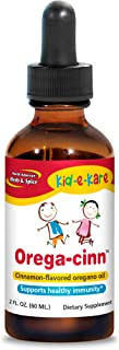 North American Herb & Spice Kid.e.Kare Orega-Cinn, Cinnamon Flavor - 2 fl. oz. - Great-Tasting Immune Support - Soothes Mu...