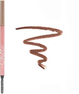 Chella Eyebrow Pencil with Spoolie (eyebrow brush) - Tantalizing Taupe