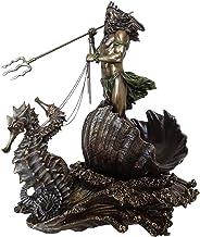 Poseidon Griekse God van de Zee Beeldje Home Desktop Standbeeld Sculptuur Kunstwerk Woninginrichting ornamentsntsntsnt