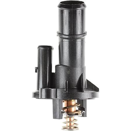 MotoRad 514-185 Integrated Housing Thermostat - 185 Degrees | fits Select Ford Escape, Explorer, Fiesta, Focus, Fusion, Taurus, Lincoln MKC, MKT, MKZ, Mazda 3, 5, MX-5, MX-5, MX-5, MX-5 Miata