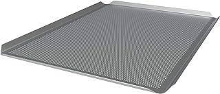 LEHRMANN Plaque perforée 46 x 35 mm Plaque de cuisson Plaque à pizza Plaque à gâteau pour four Neff, Bosch, Siemens