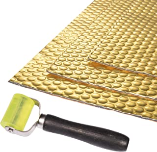 BOWSEN 80 mil 36sq.ft Sound Deadening Mat Butyl Automotive Speaker Sound Deadener Mat Sound