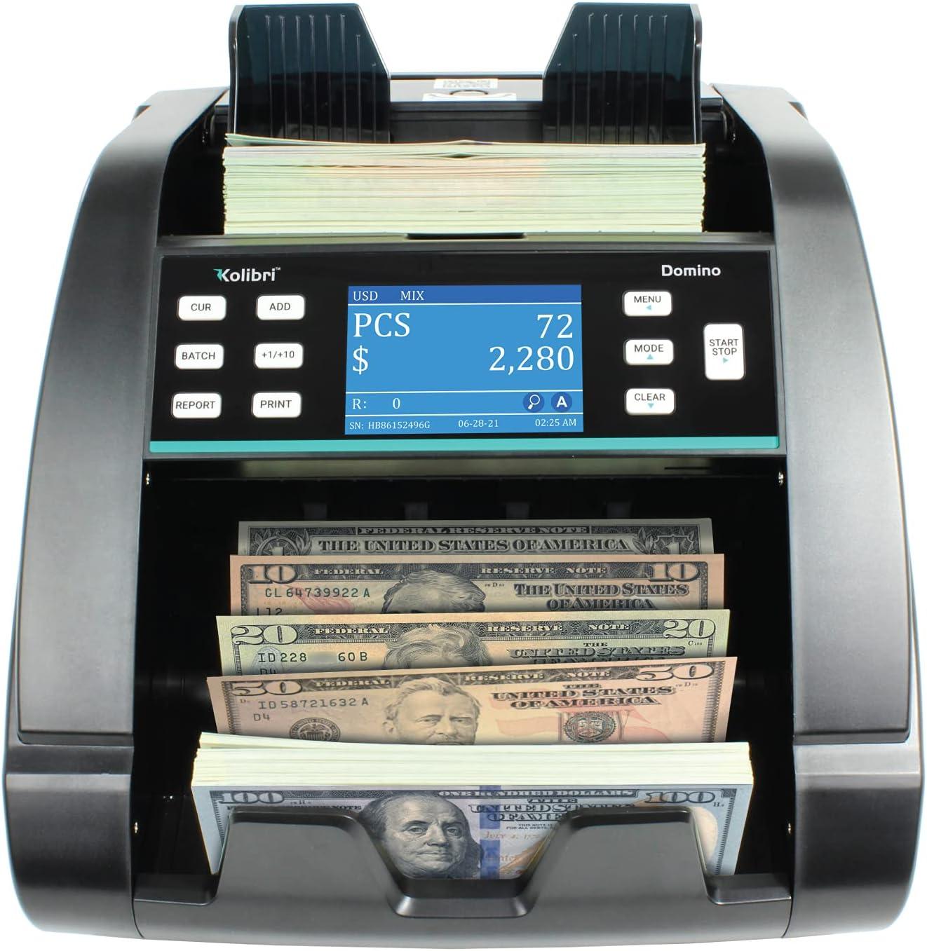 Kolibri Max 48% OFF Domino US OFFer Professional Money Denom Mixed Machine Counter