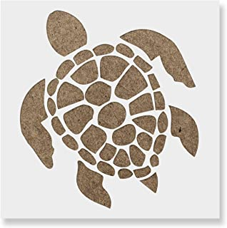 Turtle Stencil Template - Reusable Stencil with Multiple Sizes Available