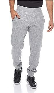 Rib Cuff Pants For Men - Grey L