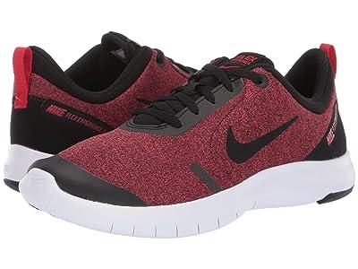 Nike Kids Flex Experience RN 8 (Big Kid) (Black/Red Orbit/University Red/White) Boys Shoes