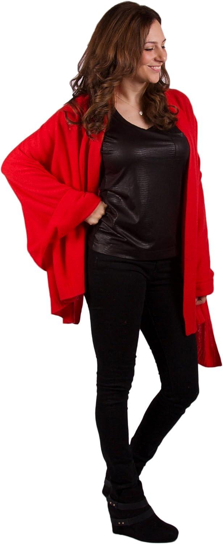 100% Cashmere Wrap  Paris  Classic Luxury Hot Red 72 x36  Wrap