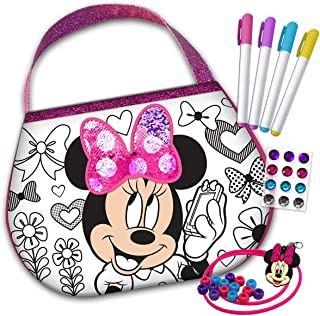 Disney Kids Children Toddler Minnie Mouse Color 'N Style Purse Set Kit
