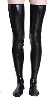 Rubberfashion Latex kousen lang - sexy overknee dijkousen voor dames en heren