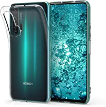 kwmobile Crystal Case Compatible with Huawei Honor 20 Pro - Soft Flexible TPU Silicone Protective Cover - Transparent