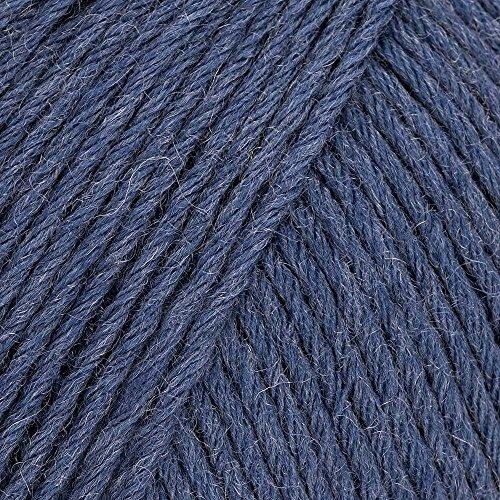 Lana Grossa MEILENWEIT 8-Fach 100g Uni 9614 - Jeans