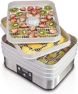 Hamilton Beach 32100A Digital Food Dehydrator, 5 Tray, Gray