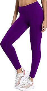 "BUBBLELIME 22""/26"" Inseam Women Yoga Leggings High Waist Non See-Through Workout Leggings UPF30+"