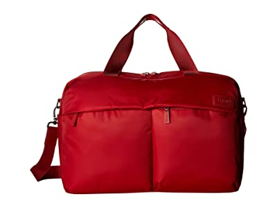 Lipault Paris City Plume 24 Hour Bag (Cherry Red) Bags