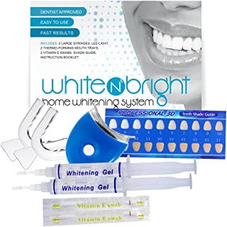 teeth whitening bubbling sensation