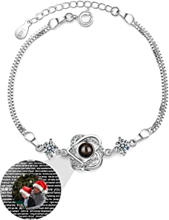 Braccialetto di proiezione fotografica Braccialetto di promessa personalizzato 100 braccialetti di lingua