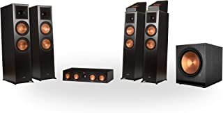 Klipsch RP-8060FA 5.1.4 Dolby Atmos Home Theater System - Ebony