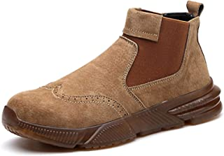 CHNHIRA Chaussure de Sécurité Homme Femme Embout Acier Protection Anti-Perforation Chaussure de Travail