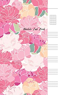 Ukulele Tab Book: Composition and Songwriting Ukulele Music Song with Chord Boxes and Lyric Lines Tab Blank Notebook Manus...