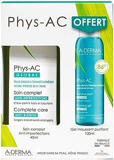 Aderma Phys-Ac SOS Spots Set Global Anti-Blemish Care 40ml + Free Purifying Foaming Gel 100ml