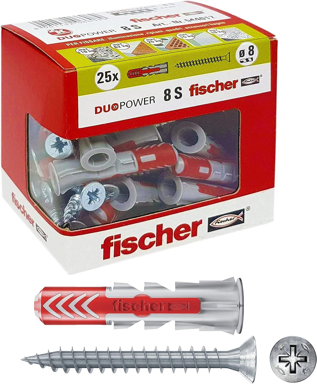 Fischer 544017with Manufacturer OFFicial shop Dowel Screw Phoenix Mall for a Murature Piene Pierced