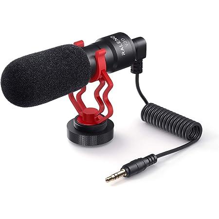 Universelles Videomikrofon Mit Stoßdämpferhalterung Kamera