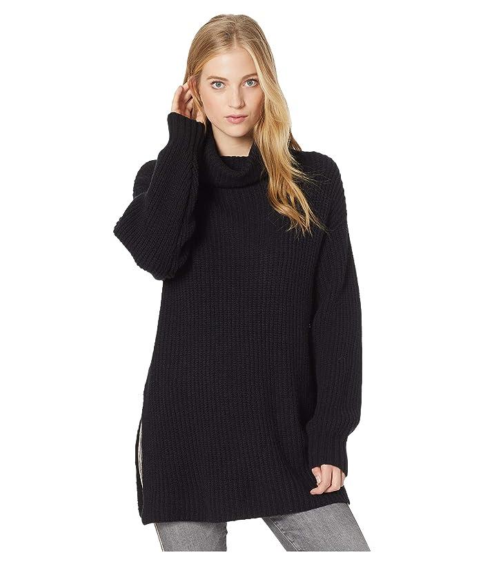 Free People Eleven Sweater (Black) Women