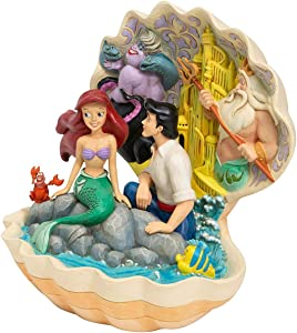 Enesco Disney Traditions by Jim Shore Little Mermaid Shell Scene Figurine