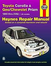 Toyota Corolla & Geo/Chevrolet Prizm (93-02) Haynes Repair Manual