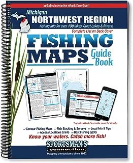 Northwest Michigan Fishing Map Guide