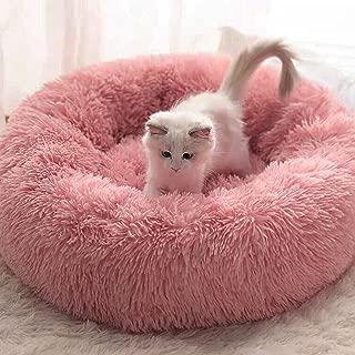 Depory Cuscino per Cani Pet Accogliente Caldo Beige Tappeto Morbido in Pile con Animali Domestici Coperta Stampata per Cani Animali di Gatti