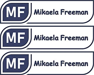 All-purpose, Custom Name Labels, Name And Initials, Multiple Colors And Sizes, Waterproof, Microwave And Dishwasher Safe, Washer And Dryer Safe, Custom Labels, Custom Name Label For Camp, Camp Labels