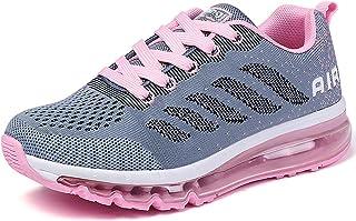 Heren Dames Loopschoenen Luchtkussen Schokabsorberende Sneakers Ademende Jogging Fitnessschoenen Atletische Outdoor Wandel...