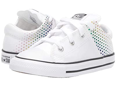 Converse Kids Chuck Taylor(r) All Star(r) Madison Kaleidoscope Ox (Infant/Toddler) (White/Multi/White) Girls Shoes