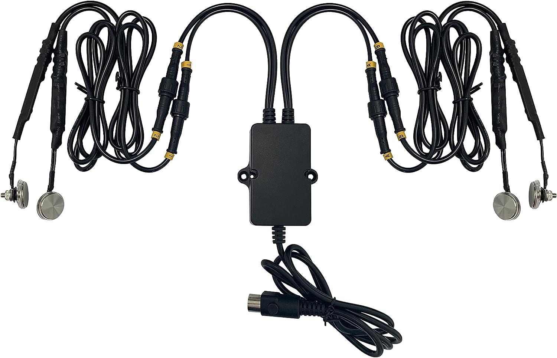 STAIGO Sensor tactil Caja de Control Reemplazo para sillas Elevadoras/sillones reclinables eléctricos/sofá de Fuente de alimentación para Limoss/Okin/Kaidi (4 Touch)
