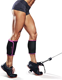 TNT Pro Series Leg Wraps for Slimmer Calves - Calf Compression Sleeve 2 Piece Set - One Size Fits All