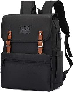 Anti Theft Laptop Backpack Travel Backpack College Bookbag Vintage Backpack