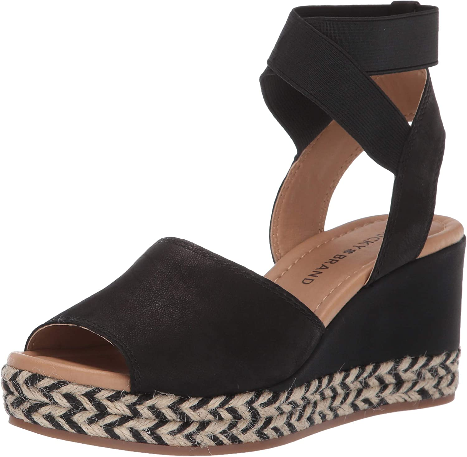 Lucky Brand Womens Bettanie Wedge Espadrille Wedge Sandal