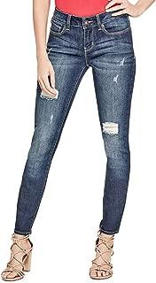 Women's Sienna Curvy Skinny Jeans in Dark Destroy Wash