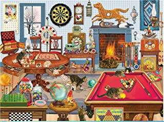 1000 Piece Jigsaw Puzzles for Adults-The Joys of Christmas-Vintage Paintings Landscape Jigsaw Puzzle