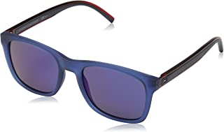 617184be8931d Tommy Hilfiger TH1493 S PJP Blue TH1493 S Square Sunglasses Lens Category 3  Len