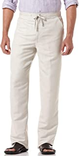 Men's Big and Tall Drawstring Pant with Back Elastic Waistband