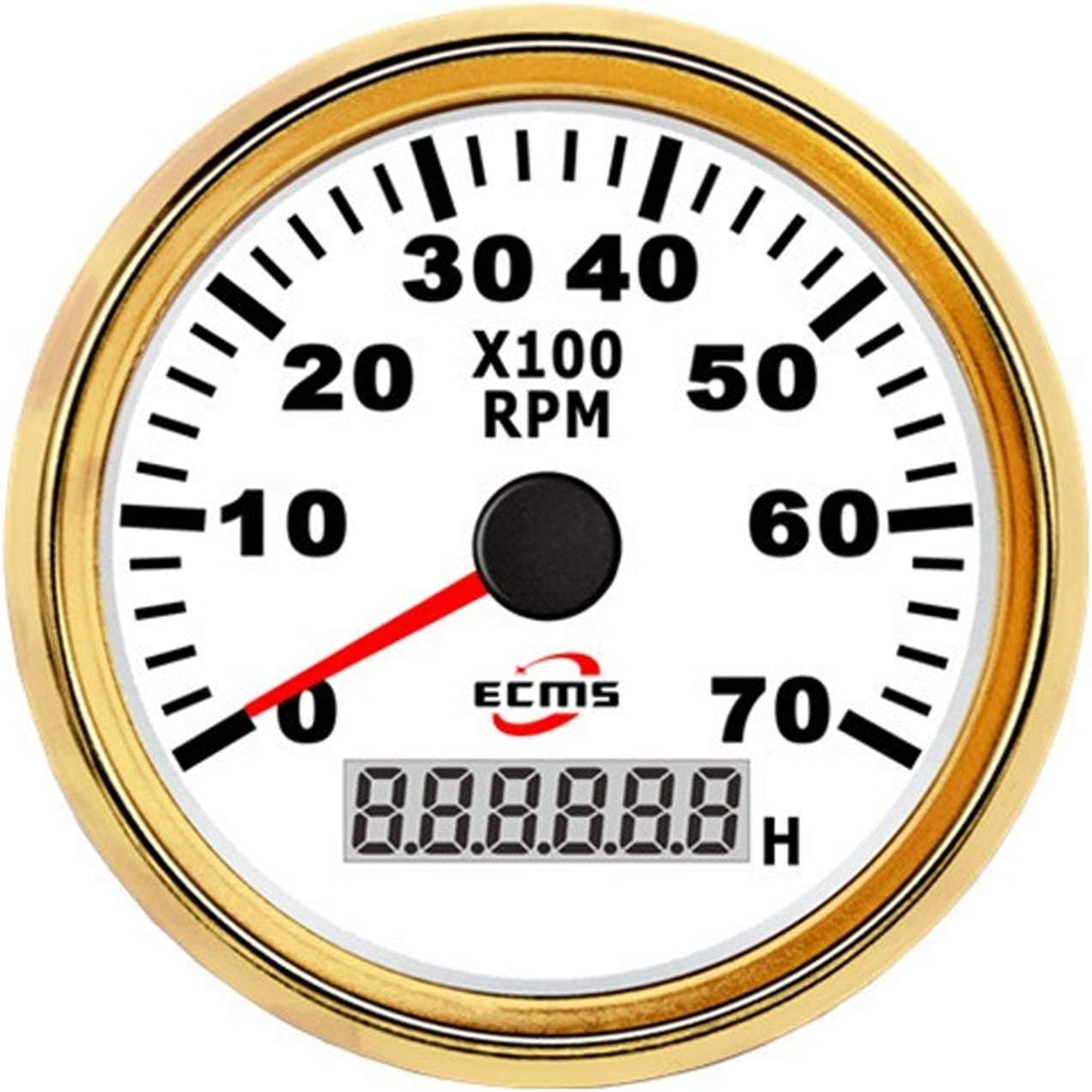 New products, world's highest quality popular! zhuangyif service 85mm Motorcycle Tachometer RPM wit Meter Gauge 7000RPM