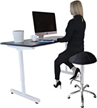 Ergonomic Balance Ball Standing Chair SIT STAND LEAN - Ultimate Standing Desk Solution, Fit Ball Chair | Ergonomic Exercis...