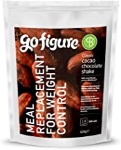 GoFigure Meal Replacement Shake With SlimBiomeA Weight Management Ingredient Cacao Chocolate Prebiotic Fibre Protein 14 Meals 206 Calories Per Serving 630 Gram Pouch Estimated Price : £ 17,99