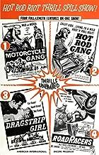 Posterazzi Multiple Hot Rod (1958) Motorcycle Gang Dragstrip Girl (1957) Roadracers (1959) Movie Masterprint Poster Print, (24 x 36)