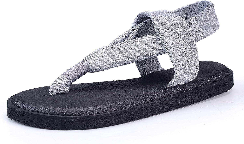 Santiro Men's Women's Lightweight Thong Sandals Flip-Flops
