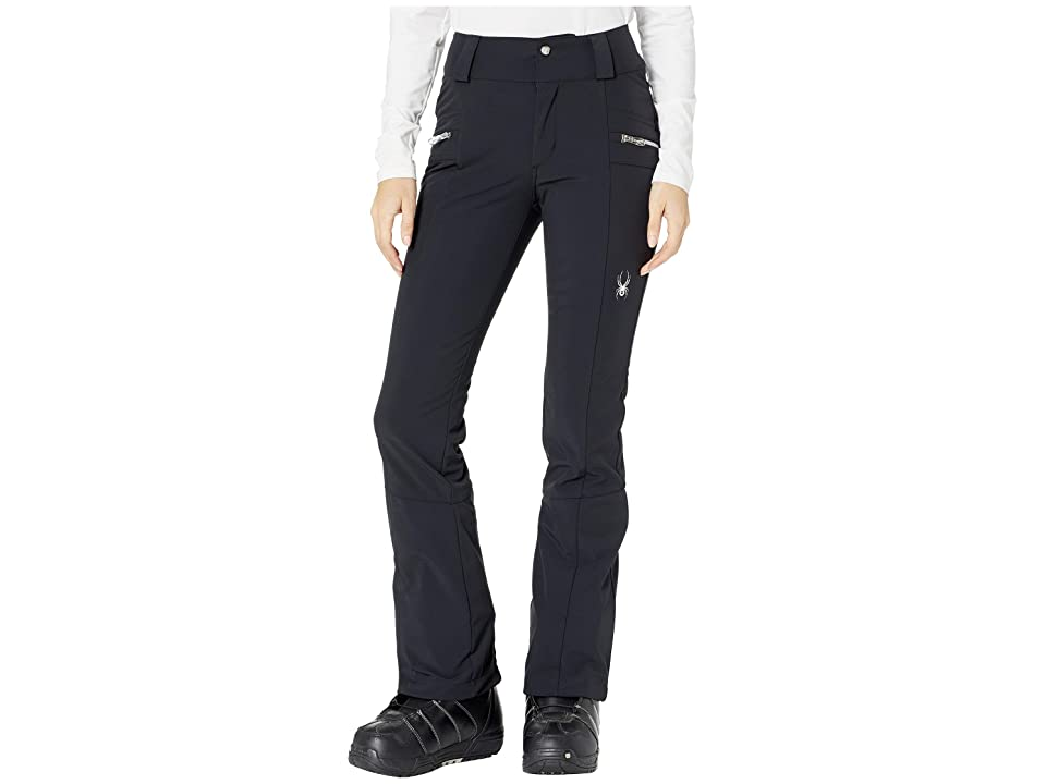 Spyder Strutt Softshell Pants (Black/Black) Women