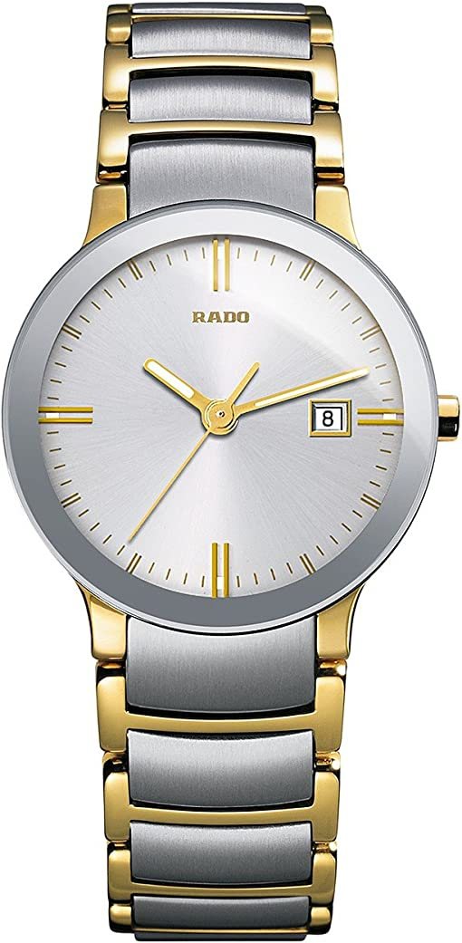 Two-Tone Silver/Yellow Gold