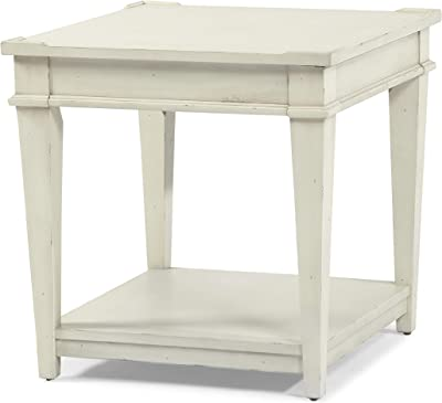 Klaussner Ava White, End Table